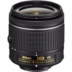 Nikon AF-P DX Nikkor 18-55mm F/3.5-5.6G VR Lens-[ Lensa Kit, No Box]