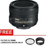 Nikon Af S 50Mm F 1 8G Free Uv Filter 58Mm Dan Lenshood Terbaru
