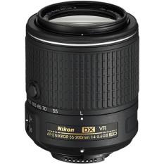 Nikon AF-S DX NIKKOR 55-200mm f/4-5.6G IF ED VR II Lensa Dslr - Hitam