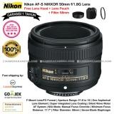 Toko Nikon Af S Nikkor 50Mm F 1 8G Lens Garansi 1Th For Nikon Dslr Free Lens Hood Lens Pouch Original Filter 58Mm Online