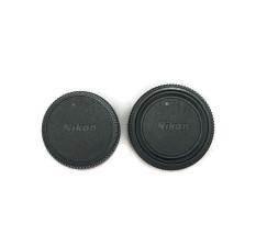 Nikon Body and Rear Cap - Hitam