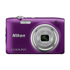Nikon Coolpix A100 Compact Digital Cameras 20 1 Mp 5X Optical Zoom Ungu Original