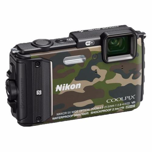 Harga Nikon Coolpix Aw130 Waterproof Digital Camera 16Mp 5X Optical Zoom Termurah