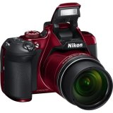 Situs Review Nikon Coolpix B700 20Mp Digital Camera Red