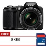 Berapa Harga Nikon Coolpix L340 Kamera Digital 20 2 Mp 28X Optical Zoom Di Indonesia