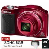 Review Terbaik Nikon Coolpix L610 16Mp Cmos Free Sdhc 8Gb