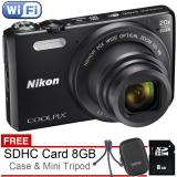 Jual Nikon Coolpix S7000 20Mp Wifi Nfc Free Sdhc 8Gb Case Tripod Branded