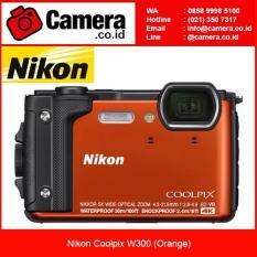 Nikon Coolpix W300 - Orange Kamera Pocket