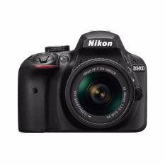 Nikon D3400 - 24.2MP - Lensa Kit 18-55mm VR - Hitam (Distributor)