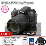 Spesifikasi Nikon D7100 24 1Mp Dx Format Cmos Sensor Af S Dx Nikkor 18 140Mm F 3 5 5 6G Ed Vr Kit Sandisk 16Gb Screen Protector Filter 67Mm Camera Bag Nikon Terbaru