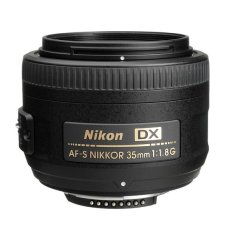 Harga Nikon Lensa Af S 35Mm F 1 8G Dx Hitam Di Dki Jakarta
