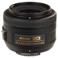 Nikon Lensa AF-S DX 35mm f/1.8G - Hitam