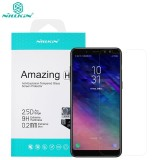 Jual Nillkin 2Mm Anti Burst Tempered Glass Protective Film Screen Protector For Samsung Galaxy A8 2018 A530F Intl Online Tiongkok