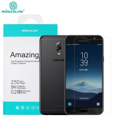 Nillkin 0.2mm Anti-Burst Tempered Glass Protective Film Screen Protector For Samsung Galaxy J7+ J7 Plus and C7 2017 and C8