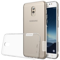 Nillkin 0.6mm Ultra thin silicone Soft Clear Back cover tpu case for Samsung Galaxy J7 Plus J7+ and C7(2017) / C8 - intl