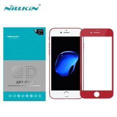 Spesifikasi Nillkin 3D Tempered Glass Ap Pro Fullscreen 23 Mm Layar Protector To Apple Iphone 7 Plus 5 5 Inch Merah Dan Harga