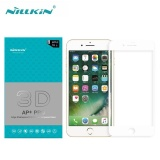 Beli Nillkin 3D Tempered Glass Ap Pro Fullscreen 23Mm Screen Protector For Apple Iphone 7 Plus 5 5 Inch White Intl Cicilan