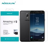 Harga Nillkin Amazing H Pro 2Mm Anti Ledakan Tempered Glass Screen Protector Untuk Samsung Galaxy C8 J7 Plus 5 5 Inch Intl Asli
