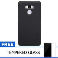 Nillkin BlackBerry Z10 Super Frosted Shield Hard Case Original - Hitam + Gratis Tempered Glass