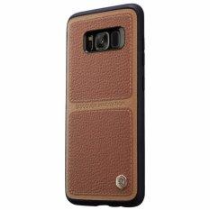 Nillkin BURT Series leather case Samsung Galaxy S8 Plus S8+ - Coklat