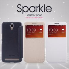 Harga Nillkin Flip Case Sparkle Leather Case Tcl 3N M2M Alcatel One Touch Flash Plus White Putih Origin