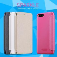 Beli Nillkin Flip Case Sparkle Leather Case Xiaomi Mi6 Mi 6 M6 Pink Cicilan