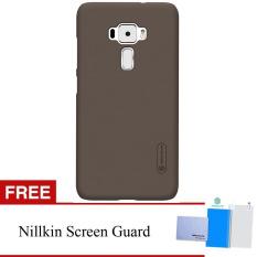 Harga Nillkin For Asus Zenfone 3 5 5 Ze552Kl Super Frosted Shield Hard Case Original Coklat Gratis Anti Gores Clear Asli Nillkin