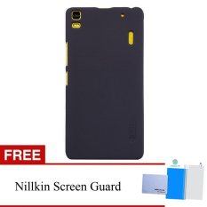 Beli Nillkin For Lenovo K3 Note A7000 Super Frosted Shield Hard Case Original Hitam Gratis Nillkin Screen Protector Kredit