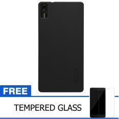 Nillkin For Lenovo Vibe Shot / Z90 Super Frosted Shield Hard Case Original - Hitam + Gratis Tempered Glass