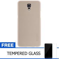 Nillkin For LG X Screen / K550Y  Super Frosted Shield Hard Case Original - Emas + Gratis Tempered G
