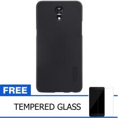 Nillkin For LG X Screen / K550Y  Super Frosted Shield Hard Case Original - Hitam + Gratis Tempered Glass