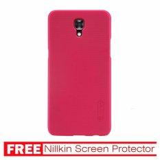 Nillkin For LG X Screen Super Frosted Shield Hard Case Original - Merah + Gratis Anti