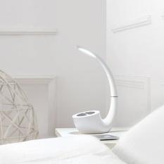 NILLKIN untuk Phantom II MC4 Nirkabel Desk Lamp Speaker Arc Touch Operasi Putih-Intl