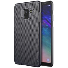 NILLKIN for Samsung Galaxy A8 (2018) PC Heat Dissipation Protective Back Cover Air Case (Black) - intl