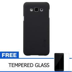Harga Nillkin For Samsung Galaxy E7 E700 Super Frosted Shield Hard Case Original Hitam Gratis Tempered Glass Nillkin Original