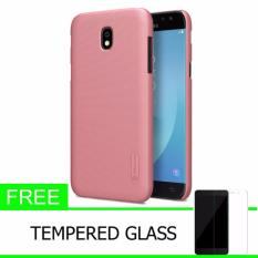 Spesifikasi Nillkin For Samsung Galaxy J5 2017 J5 Pro J530 Super Frosted Shield Hard Case Original Rose Gold Gratis Tempered Glass Dan Harga