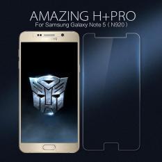 Harga Nillkin Untuk Samsung Galaxy Note 5 Amazing H Pro Tempered Glass Screen Guard Nanometer Anti Ledakan Intl Baru Murah