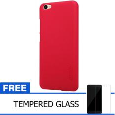 Beli Nillkin For Vivo V5 Y67 Super Frosted Shield Hard Case Original Merah Gratis Tempered Glass Nillkin Dengan Harga Terjangkau