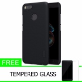 Harga Hemat Nillkin For Xiaomi Mi5X Mi 5X Mi A1 Super Frosted Shield Hard Case Original Hitam Gratis Tempered Glass