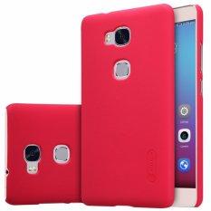 Nillkin Frosted case Huawei Honor 5X (KIW-TL00) - Merah + free screen protector