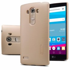 Nillkin  Frosted Case Lg G4 Beat (G4S G4 Mini G4 S) - Emas + Free Screen Protector(Off White)