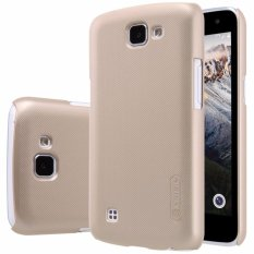 Nillkin  Frosted Case Lg K4 - Emas + Free Screen Protector(Off White)