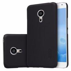 Nillkin Frosted case Meizu Pro 5 (MX Supreme M578CE M576 M576U) - Hitam + free screen protector