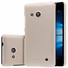 Nillkin Frosted case Microsoft Lumia 550 - Emas + free screen protector