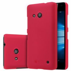 Nillkin Frosted case Microsoft Lumia 550 - Merah + free screen protector
