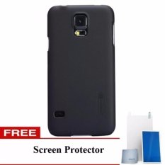 Beli Nillkin Frosted Case Samsung Galaxy S5 G900 I9600 Hitam Free Screen Protector Murah