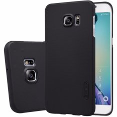 Nillkin Frosted case Samsung Galaxy S6 Edge Plus - Hitam + free screen protector