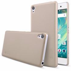Nillkin Frosted case Sony Xperia XA - Emas + free screen protector