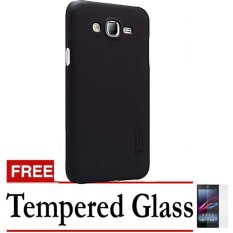 Nillkin Frosted Hard Case Samsung Galaxy J2 Prime Gold – Gratis Tempered Glass