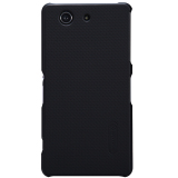 Toko Nillkin Frosted Hard Case Sony Xperia Z3 Compact Black Online Di Jawa Barat